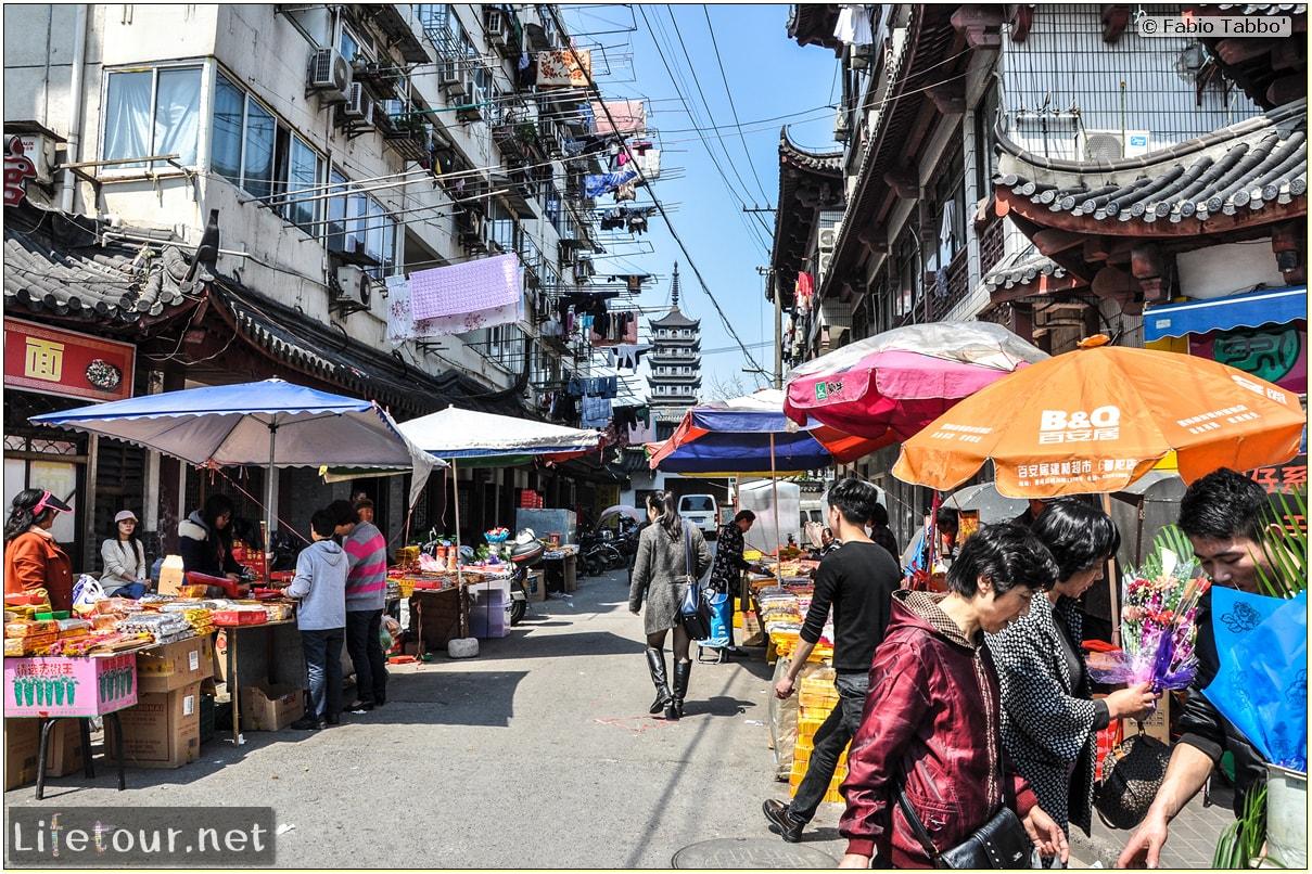 Fabio's LifeTour - China (1993-1997 and 2014) - Shanghai (1993 and 2014) - Tourism - Food Markets - 1641