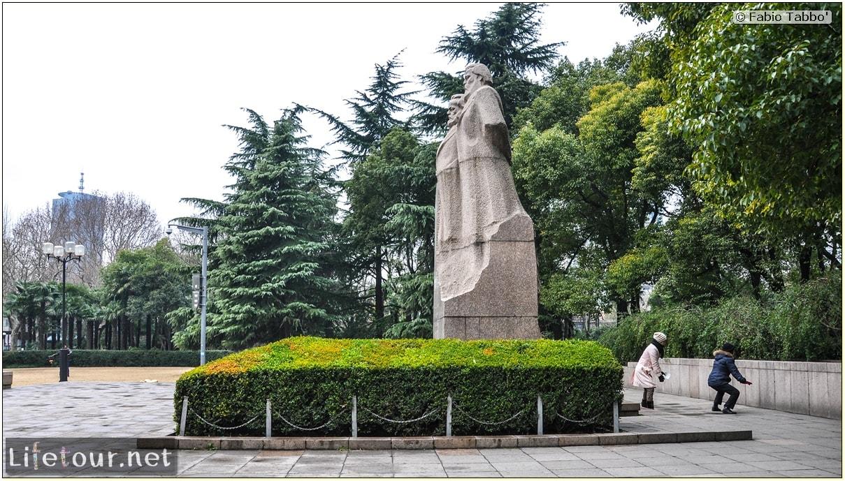 Fabio's LifeTour - China (1993-1997 and 2014) - Shanghai (1993 and 2014) - Tourism - Fuxing park - 2821