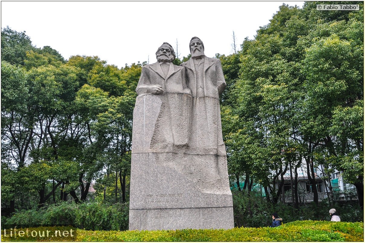 Fabio's LifeTour - China (1993-1997 and 2014) - Shanghai (1993 and 2014) - Tourism - Fuxing park - 2927