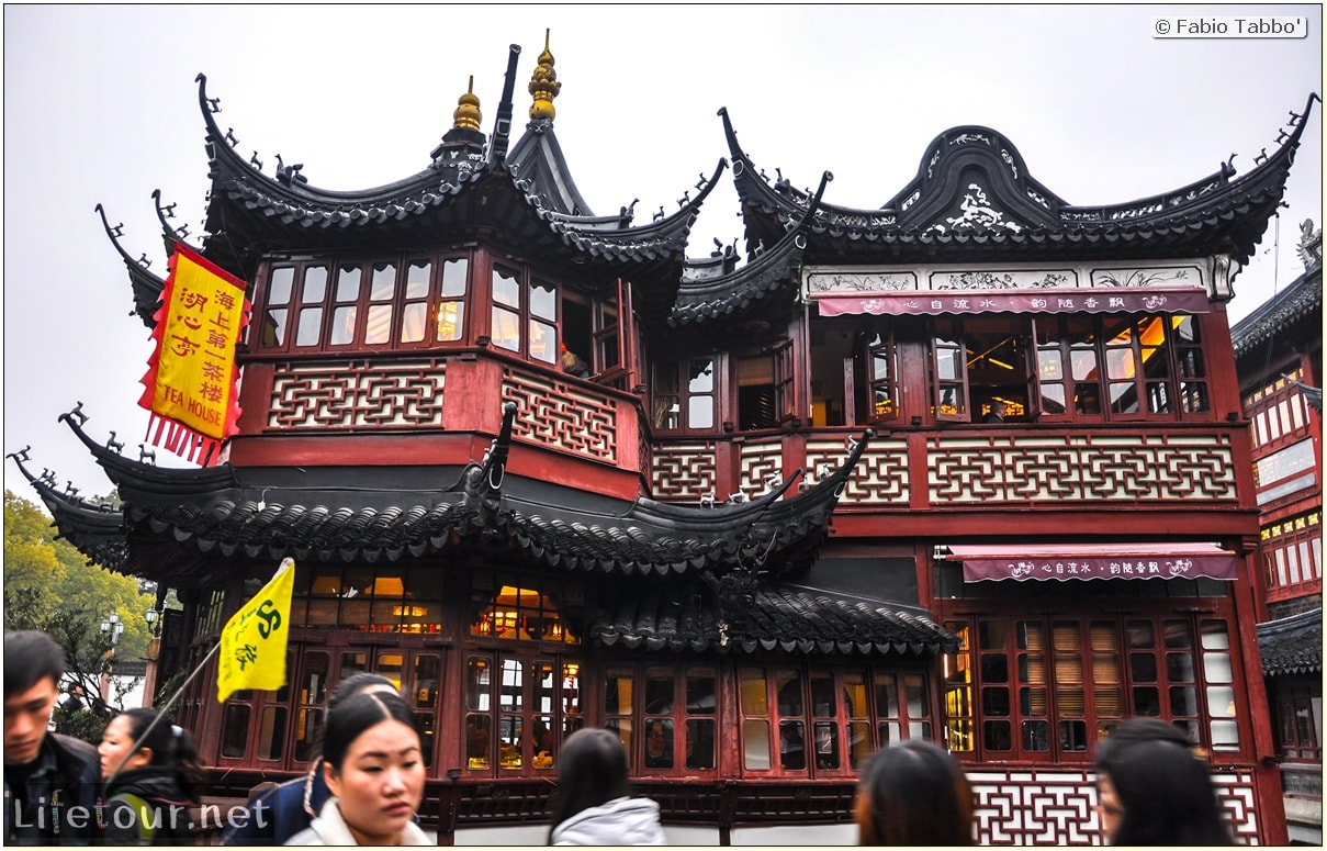 Fabio's LifeTour - China (1993-1997 and 2014) - Shanghai (1993 and 2014) - Tourism - Yuyuan Garden - 9873