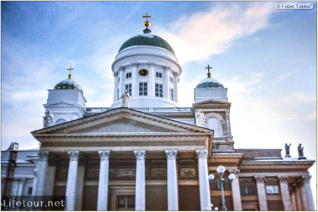 Fabio's LifeTour - Finland (1993-97) - Helsinki - Helsinki Senate Square and Cathedral - 12590