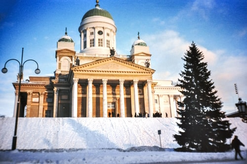 Fabio's LifeTour - Finland (1993-97) - Helsinki - Helsinki Senate Square and Cathedral - 12602 COVER