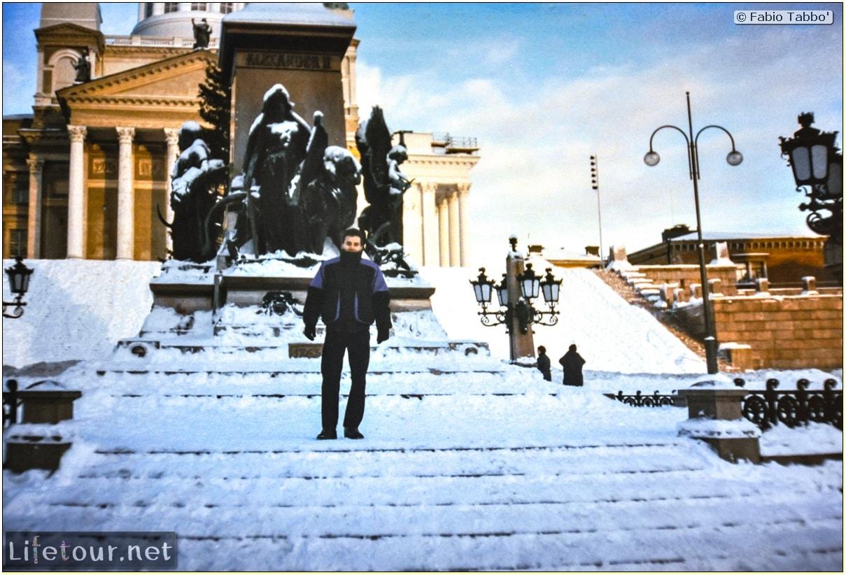 Fabio's LifeTour - Finland (1993-97) - Helsinki - Helsinki Senate Square and Cathedral - 12625