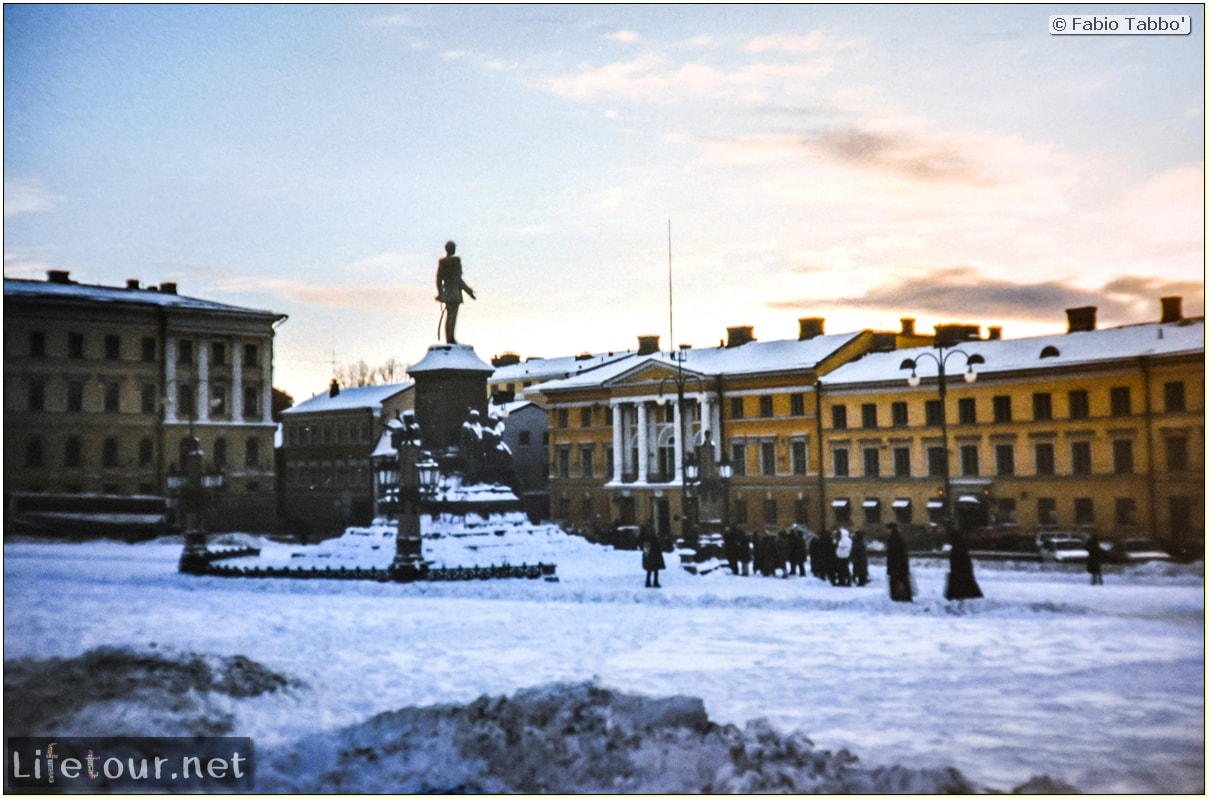 Fabio's LifeTour - Finland (1993-97) - Helsinki - Helsinki Senate Square and Cathedral - 12651