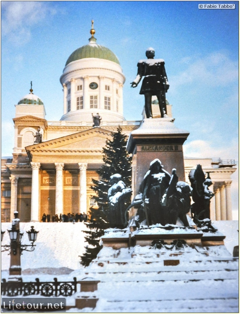 Fabio's LifeTour - Finland (1993-97) - Helsinki - Helsinki Senate Square and Cathedral - 12707