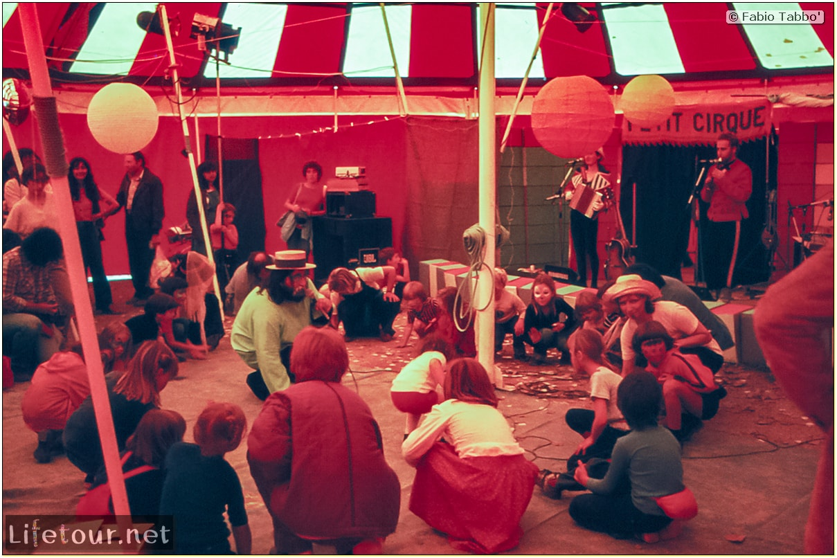 Fabio's LifeTour - France (1975, 1980, 90s) - Paris - Circus of Stains-Dugny 1979 - 16713