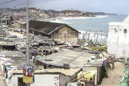 Ghana -Central Region-Cape Coast-Cape Coast Castle-994 COVER