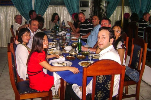 Ghana -Greater Accra-Accra-Dining-Osteria Michelangelo Italian restaurant-792 COVER