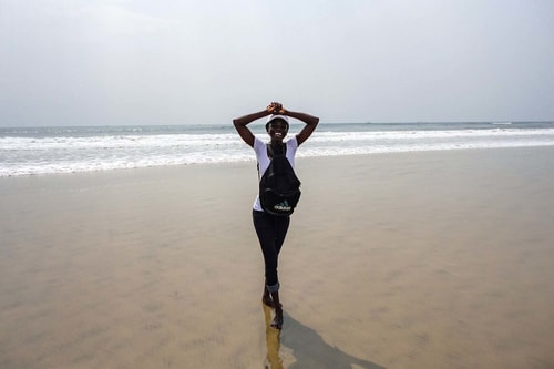 Ghana -Greater Accra-Accra-Tourism-Kokrobyte beach-760 COVER