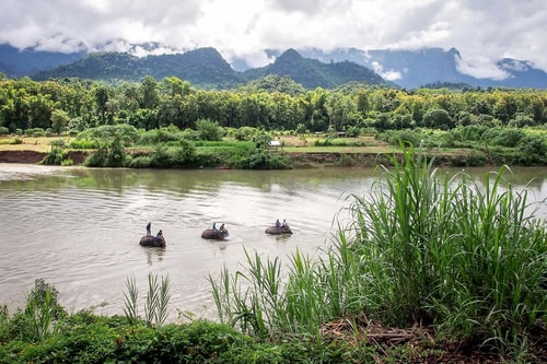 Laos-Luang-Prabang-Tourism-Elephant-Village-Elephant-Village-premises-19627 COVER