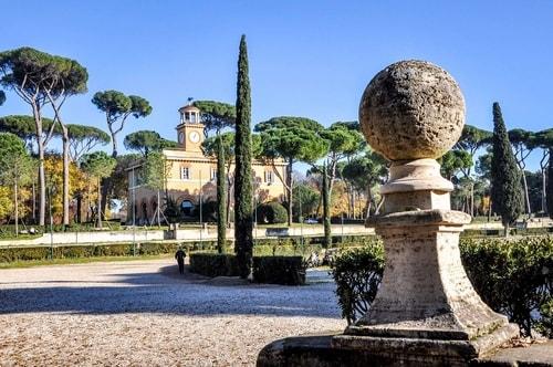 Italy-Lazio-Rome-Villa-Borghese-park-Casina-dell'Orologio-3878 COVER