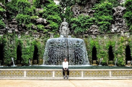 Italy -Lazio-Tivoli-Villa D'Este-Gardens (Gardini di Villa d'Este)-12525 COVER