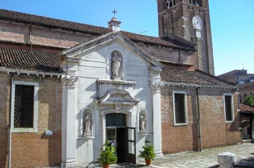 Italy -Veneto-Venice-Dorsoduro-Chiesa di San Nicolò dei Mendicoli-14013 COVER