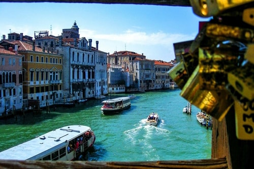 Italy -Veneto-Venice-Dorsoduro-Ponte dell' Accademia-13706 COVER