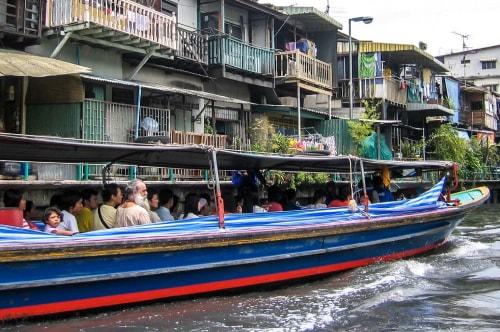 Thailand -Bangkok-Transportation-Bangkok Khlongs -15426 COVER