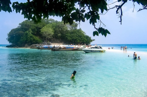 Thailand -Krabi-Four Islands tour-Beaches and snorkeling-15281 COVER