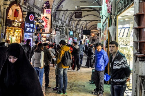 Turkey-Istanbul-Istanbul-bazaars-Grand-Bazaar-1921 COVER