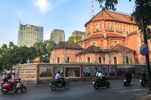 Vietnam-Ho Chi Minh City -Tourism-Cathedral Notre Dame de Saigon-19473 COVER